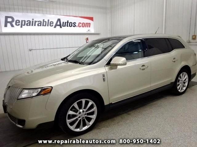 2011 Lincoln MKT AWD Repairable Side Damage