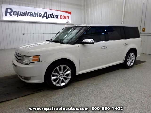 2009 Ford Flex Limited FWD Repairable Hail Damage