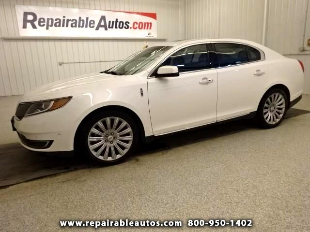 2013 Lincoln MKS AWD EcoBoost Repairable Hail Damage