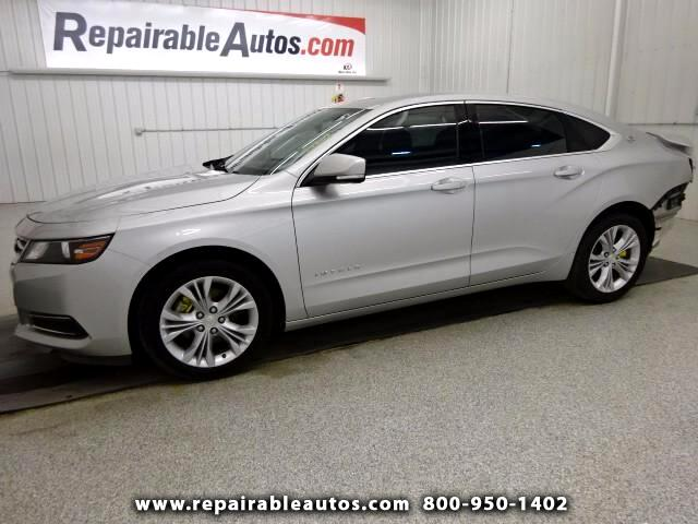 2014 Chevrolet Impala 1LT Repairable Rear Damage