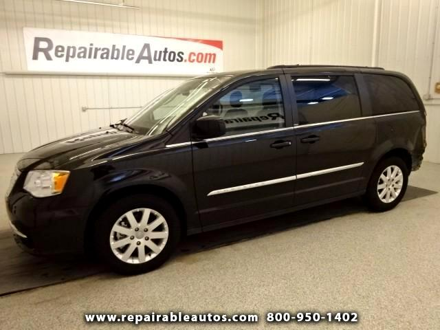 2013 Chrysler Town & Country Touring Repairable Rear Damage