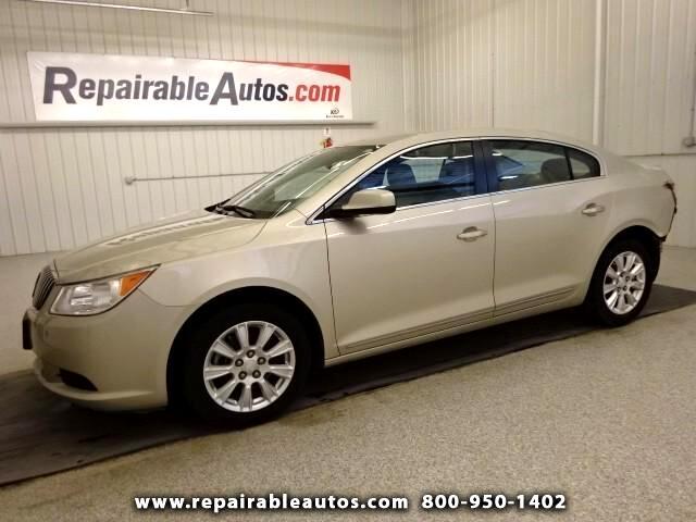 2013 Buick LaCrosse Repairable Rear Damage