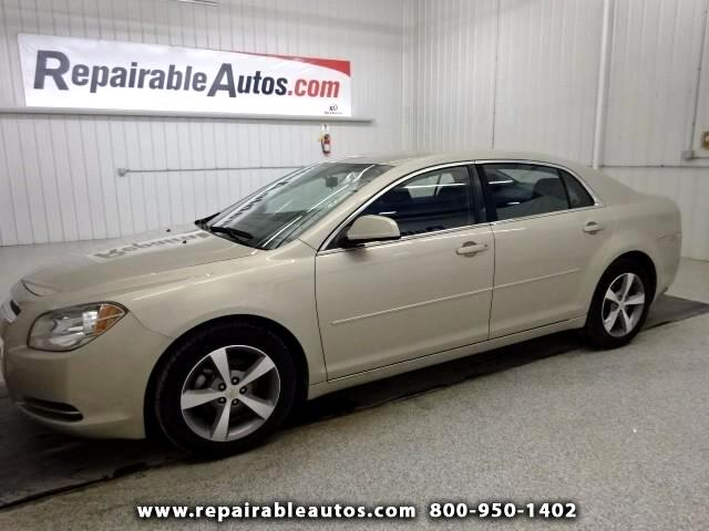 2011 Chevrolet Malibu LT Repairable Hail Damage