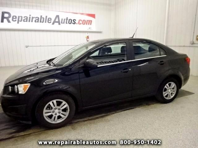 2014 Chevrolet Sonic LT Repairable Hail Damage