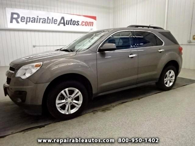 2012 Chevrolet Equinox 1LT Repairable Hail Damage