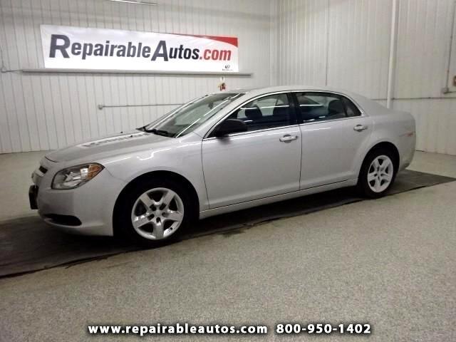 2012 Chevrolet Malibu LS Repairable Hail Damage