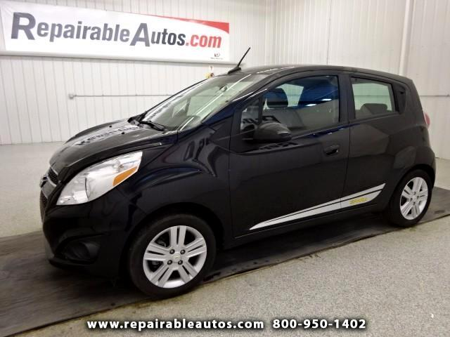 2013 Chevrolet Spark LS Repairable Hail Damage