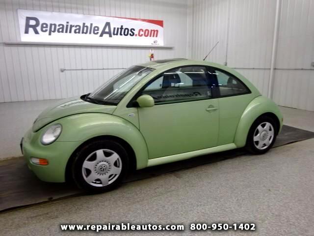 2001 Volkswagen New Beetle GLT Repairable Hail Damage