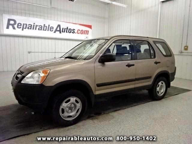 2003 Honda CR-V ** LX AWD Repairable Hail Damage