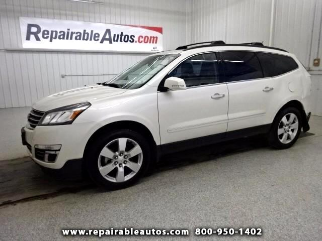 2014 Chevrolet Traverse AWD LTZ Repairable Rear Damage
