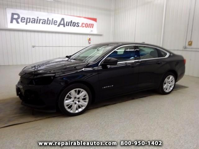 2016 Chevrolet Impala LS Repairable Front Damage