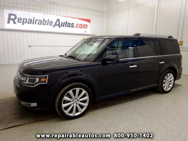 2014 Ford Flex Limited AWD w/Ecoboost Repairable Rear Damage