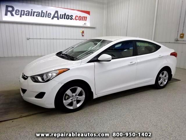 2013 Hyundai Elantra GLS Repairable Hail Damage