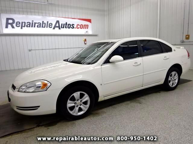 2008 Chevrolet Impala LT Repairable Hail Damage