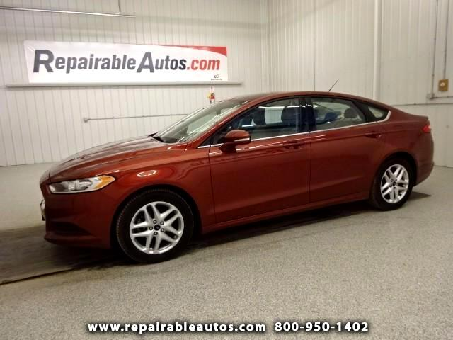 2014 Ford Fusion SE Repairable Hail Damage