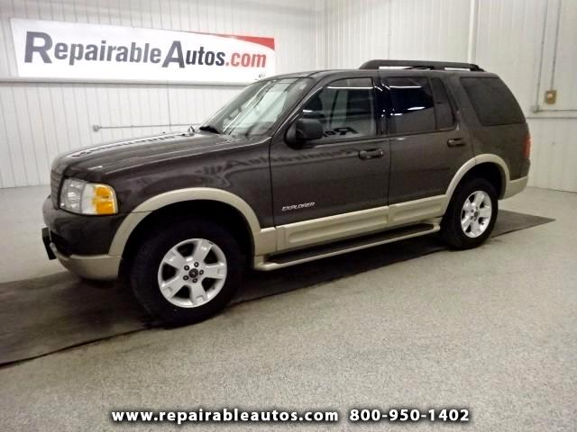 2005 Ford Explorer Eddie Bauer 4WD Repairable Hail Damage