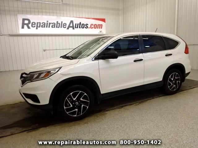 2016 Honda CR-V SE Repairable Theft Damage