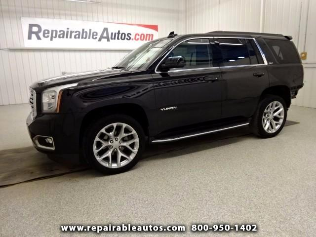 2016 GMC Yukon SLT 4x4 Repairable Rear Damage