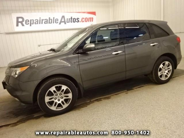 2007 Acura MDX **SH AWD Repairable Hail Damage