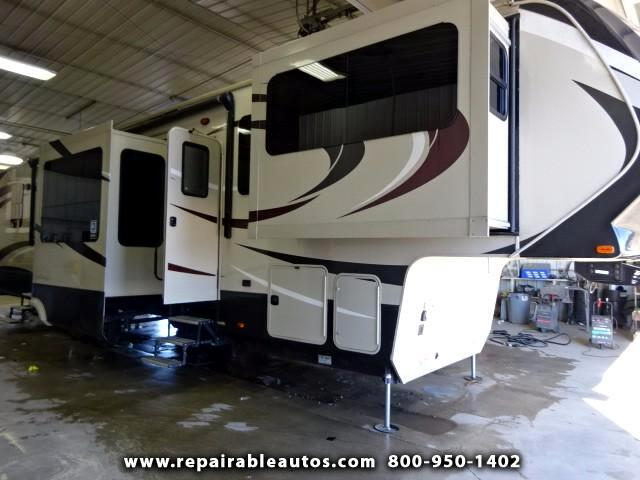 2016 Grand Design Solitude ST379FL Repairable Water Damage