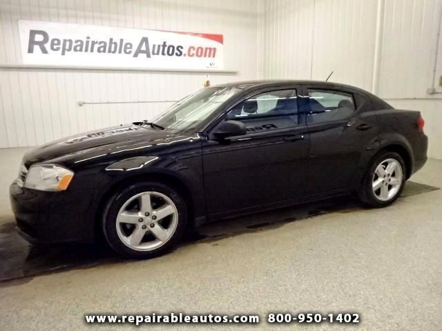 2014 Dodge Avenger **SE Repairable Hail Damage