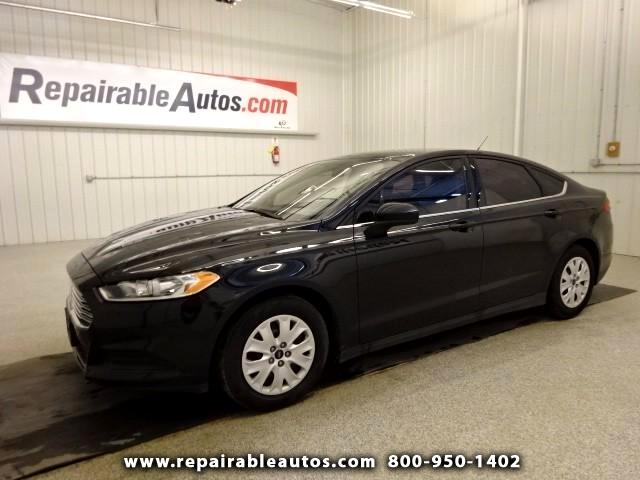 2014 Ford Fusion **S Repairable Hail Damage