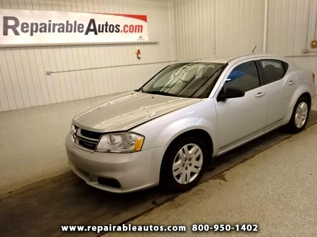 2012 Dodge Avenger **SE Repairable Hail Damage