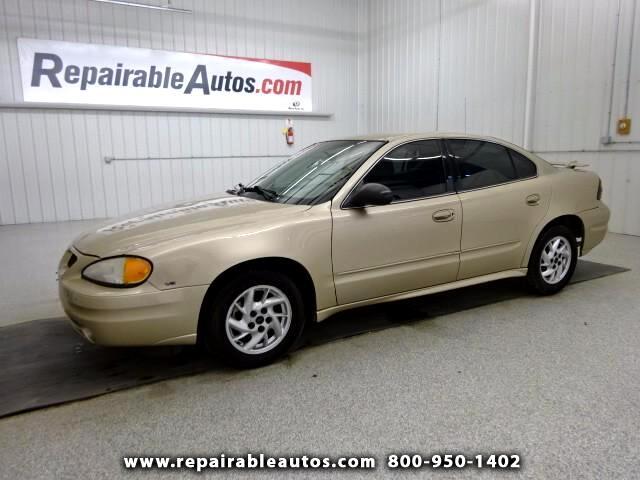 2004 Pontiac Grand Am SE **Repairable Hail Damage