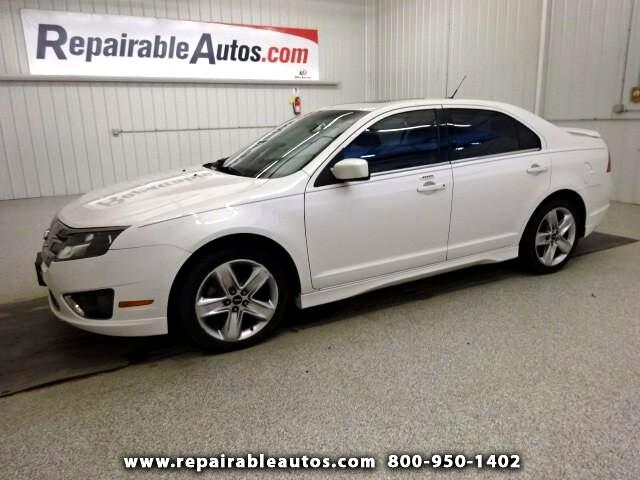 2011 Ford Fusion Sport AWD ** Repairable Hail Damage