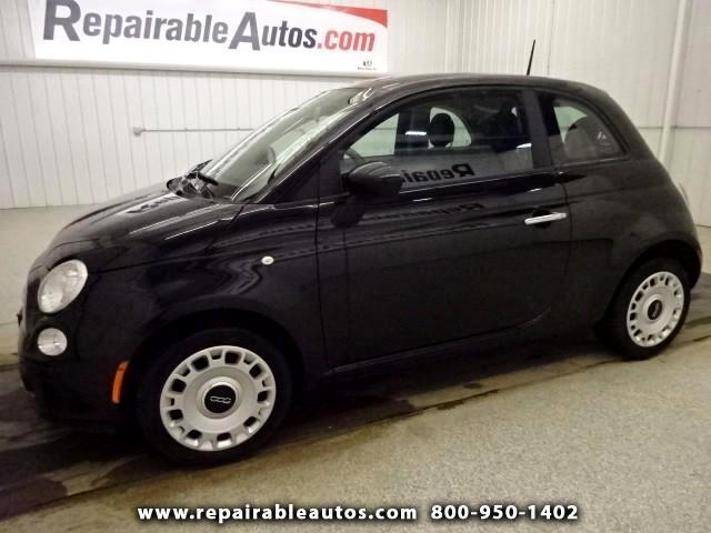 2012 Fiat 500 Pop ** Repairable Hail Damage