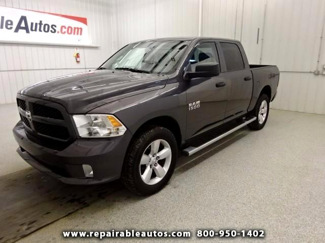 2015 RAM 1500 Tradesman 4WD Repaired Rear Damage