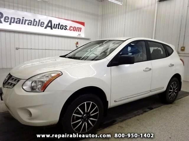 2012 Nissan Rogue S AWD ** Repairable Hail Damage