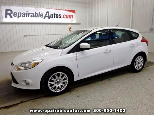 2012 Ford Focus SE Repairable Hail Damage