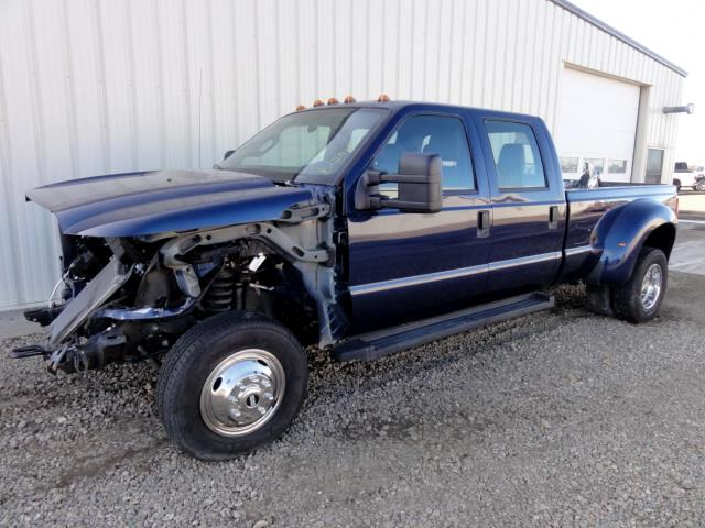 2011 Ford F-350 SD XLT Crew Cab 4WD REPAIRABLE EZ FRONT DAMAGE