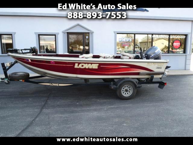 2001 Lowe Fishing Boat