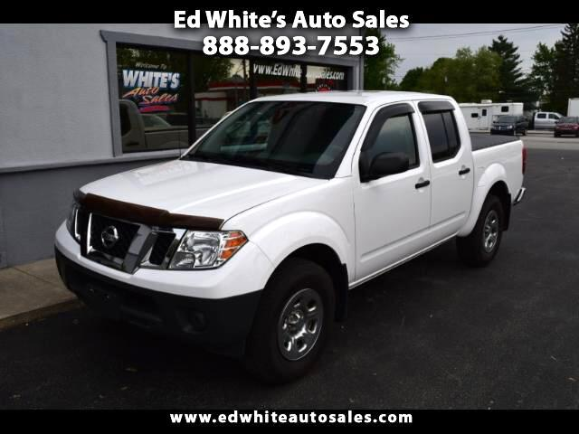 2011 Nissan Frontier S Crew Cab 5AT 4WD