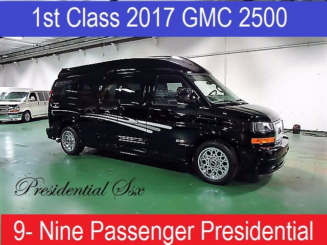 2017 GMC 9 Passenger Conversion Van NEW PRESIDENTIAL SSX