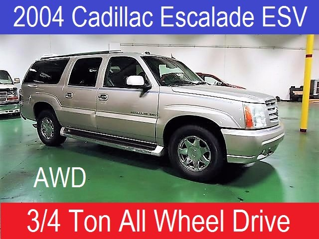 2004 Cadillac Escalade ESV AWD 4dr Luxury