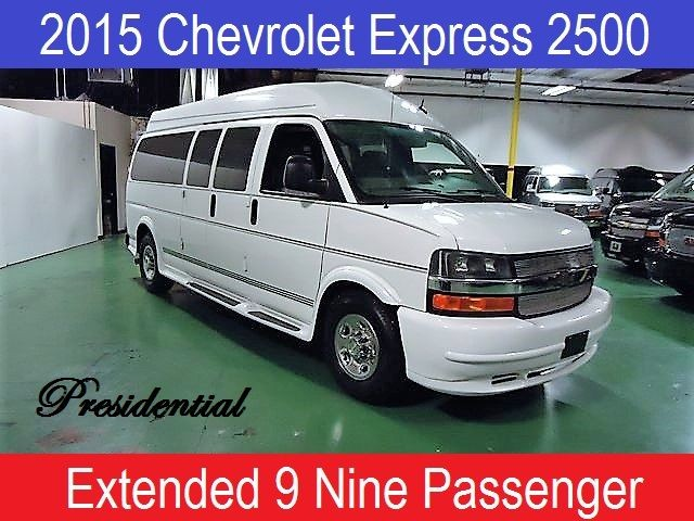 2015 Chevrolet 9 Passenger Conversion Van Rocky Ridge Conversion