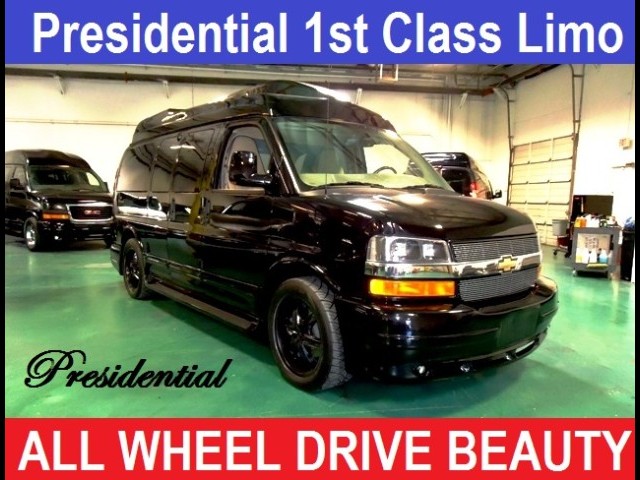 2014 Chevrolet AWD Conversion Van Presidential Limousine Conversion