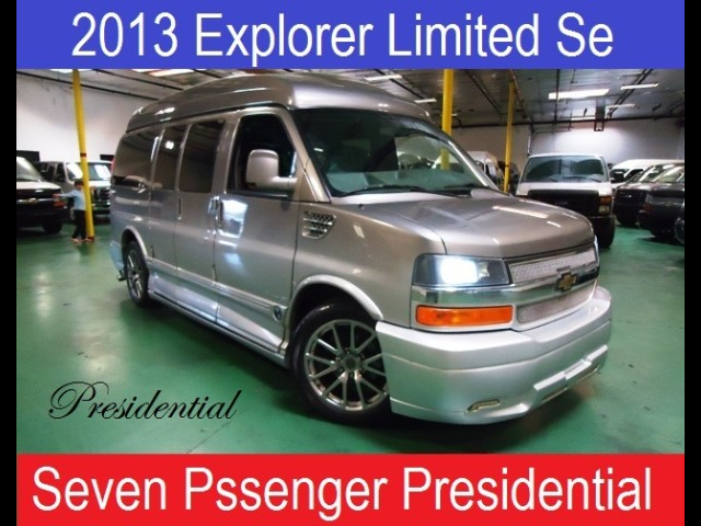 2013 Chevrolet Conversion Van Presidential Explorer Limited Se