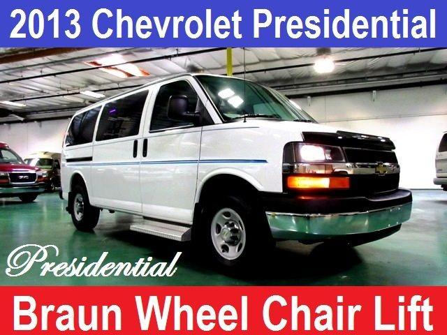 2013 Chevrolet Conversion Van Presidential Wheelchair Mobility