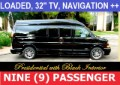 2016 GMC 9 Passenger Conversion Van
