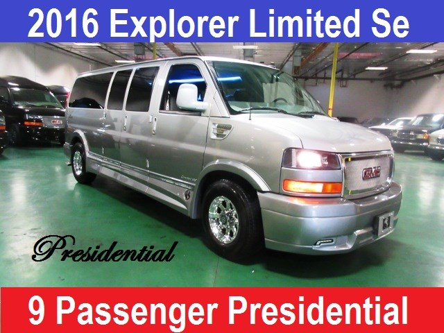 2016 GMC 9 Passenger Conversion Van Presidential