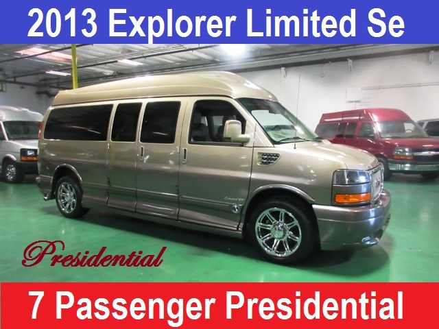 2013 GMC Conversion Van Presidential Explorer Se