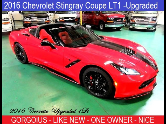 2016 Chevrolet Corvette Sting Ray  LT1 with Upgrades