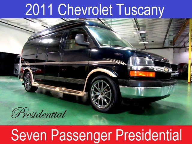 2011 Chevrolet Conversion Van Presidential Tuscany