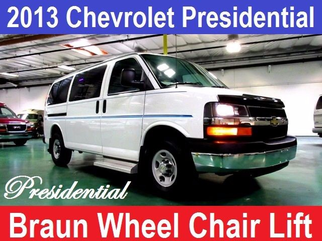 2013 Chevrolet Conversion Van Presidential Wheelchair Handicap Van