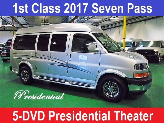 2017 GMC Conversion Van Presidential 5 DVD Theater