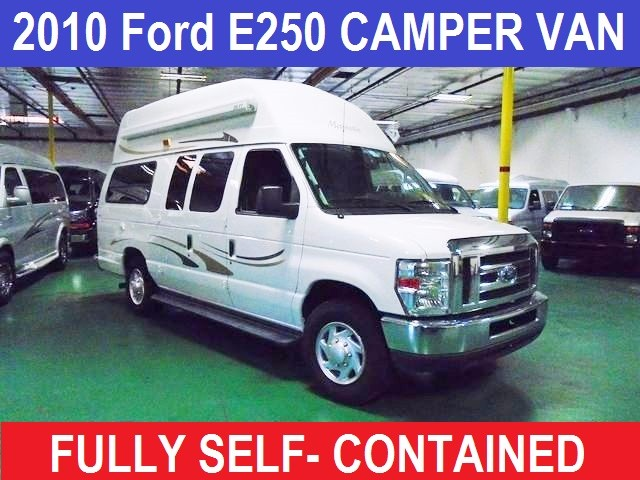2010 Ford E250 SELF CONTAINED CAMPER VAN CLASS B CONVERSION